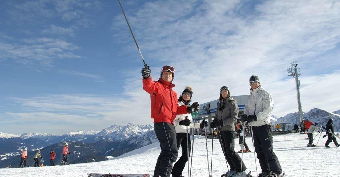 Skiing holidays at Plan de Corones Val Pusteria / South Tyrol